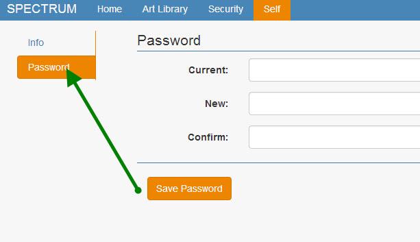 Spectrum changing your password | Embtrak